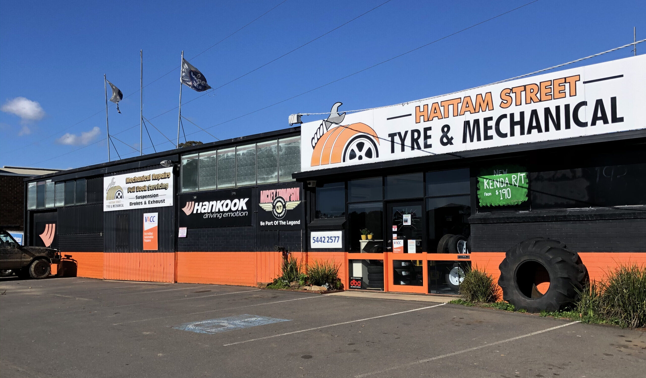 Welcome to Hattam Street Tyre & Mechanical
